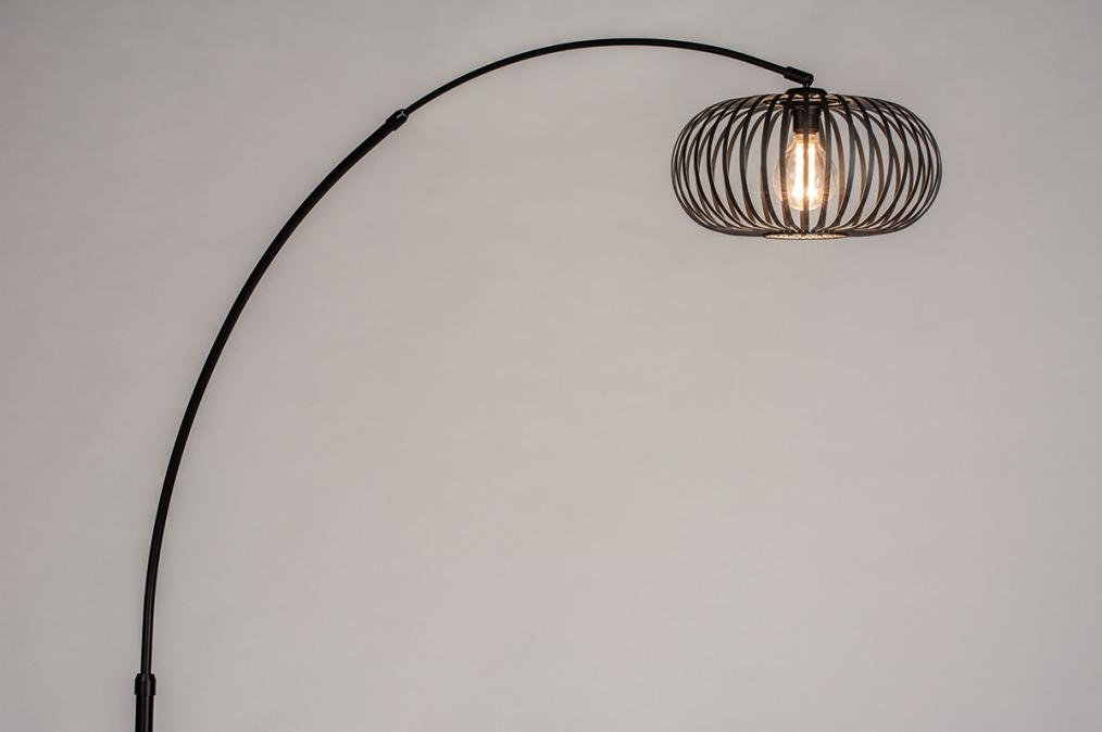 Vloerlamp 30956: industrie, look, modern, retro #0