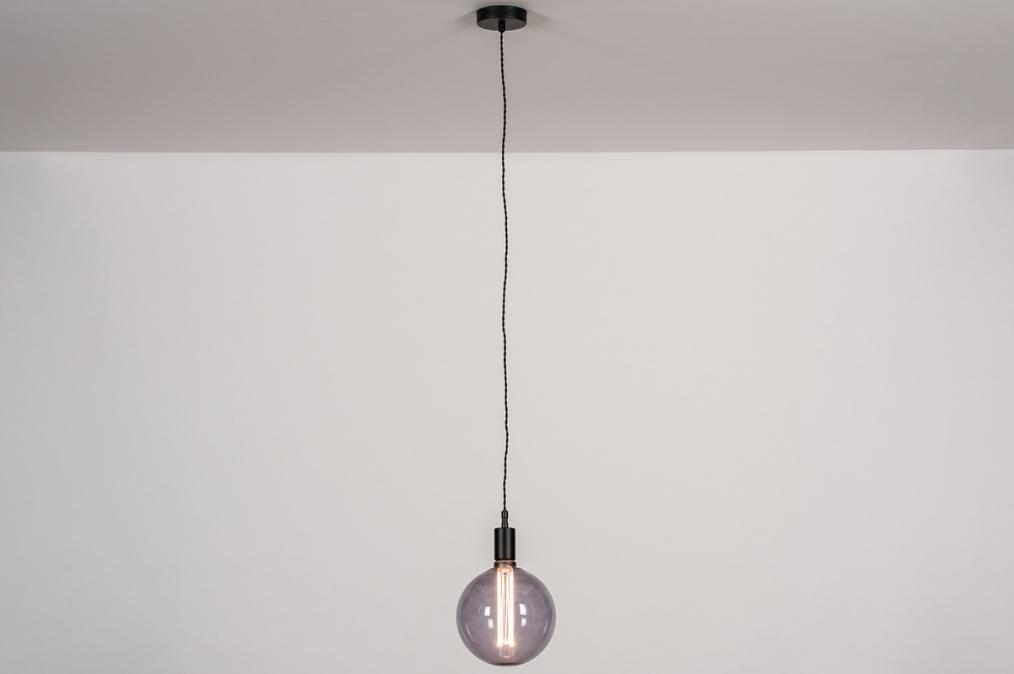 Hanglamp 30974: industrie, look, landelijk, rustiek #0