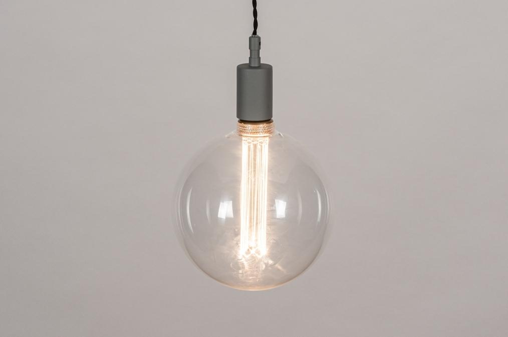 Hanglamp 30977: industrie, look, modern, glas #0