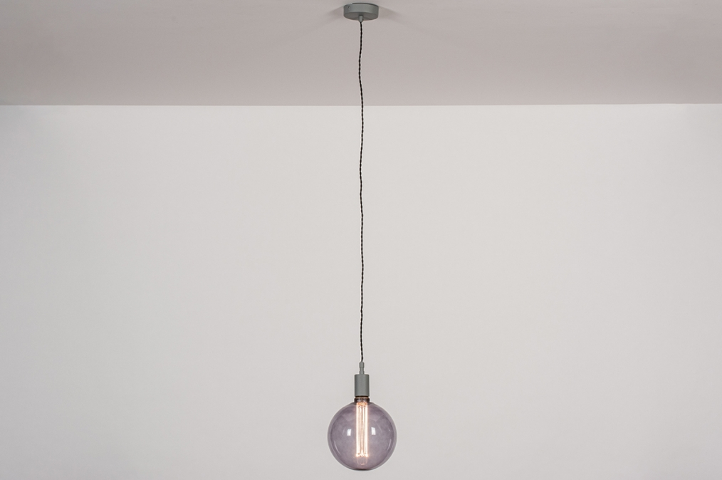 Hanglamp 30978: industrie, look, modern, glas #0