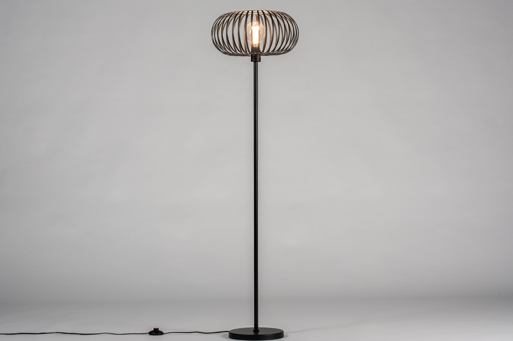 Stehleuchte 30983: Industrielook, laendlich rustikal, modern, coole Lampen grob #0