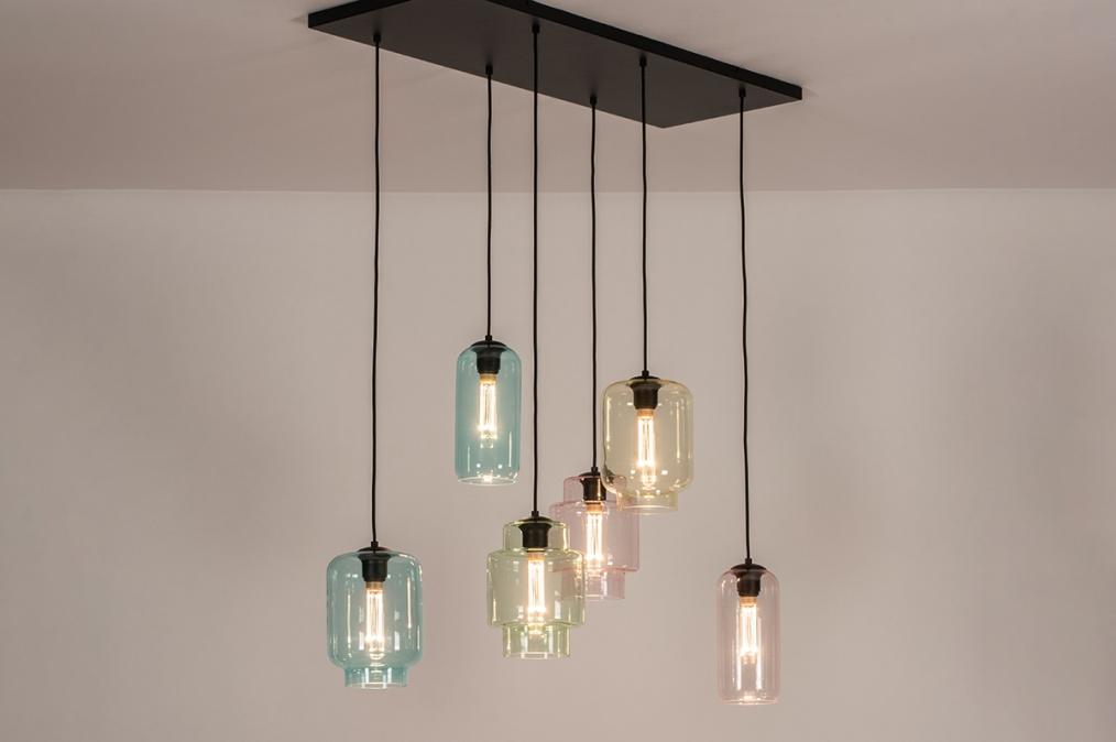 Hanglamp 30998: sale, landelijk, rustiek, modern #0