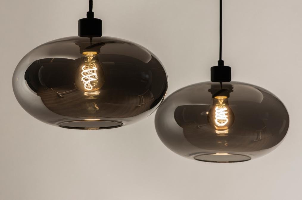 Hanglamp 31006: modern, retro, eigentijds klassiek, glas #0