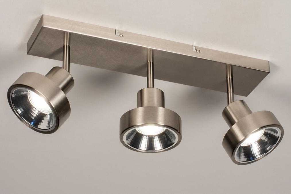 Spot 31018: modern, staal rvs, metaal, staalgrijs #0