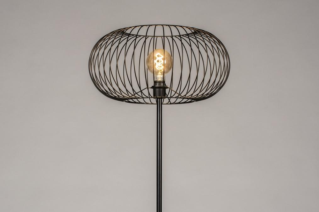 Vloerlamp 31047: industrie, look, modern, metaal #0