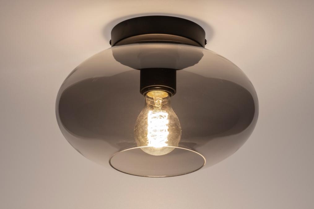 Plafondlamp 31063: modern, retro, eigentijds klassiek, glas #0