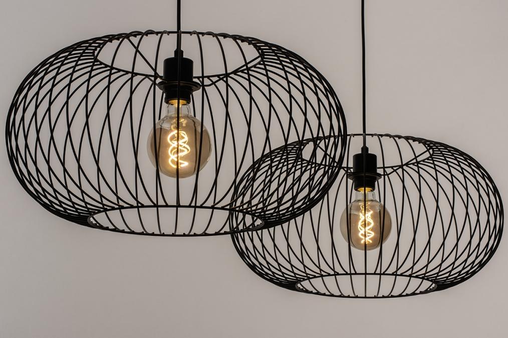 Hanglamp 31065: industrie, look, landelijk, rustiek #0