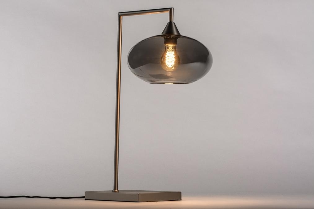 Tafellamp 31066: modern, retro, eigentijds klassiek, glas #0