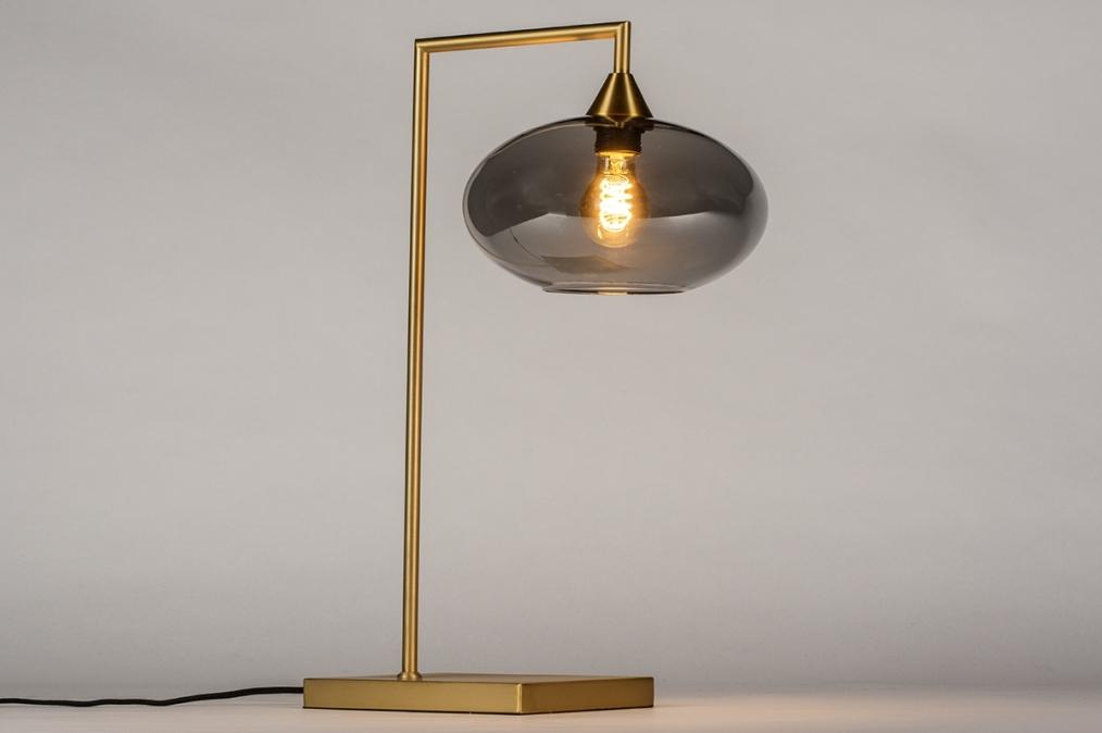 Tafellamp 31067: modern, retro, eigentijds klassiek, glas #0