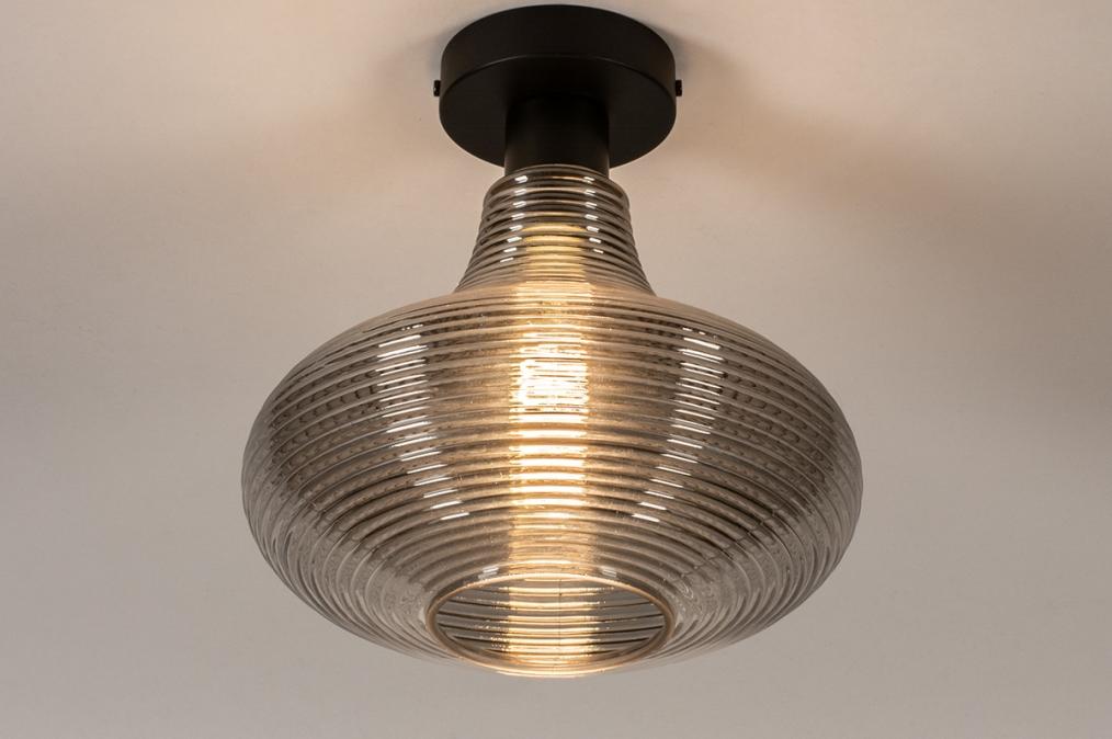 Plafondlamp 31120: modern, retro, eigentijds klassiek, glas #0