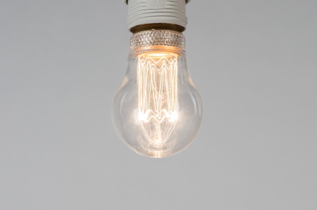 Lichtbron 323: glas, helder glas, rond #0