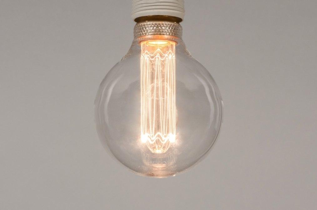 Lichtbron 330: glas, helder glas, rond #0