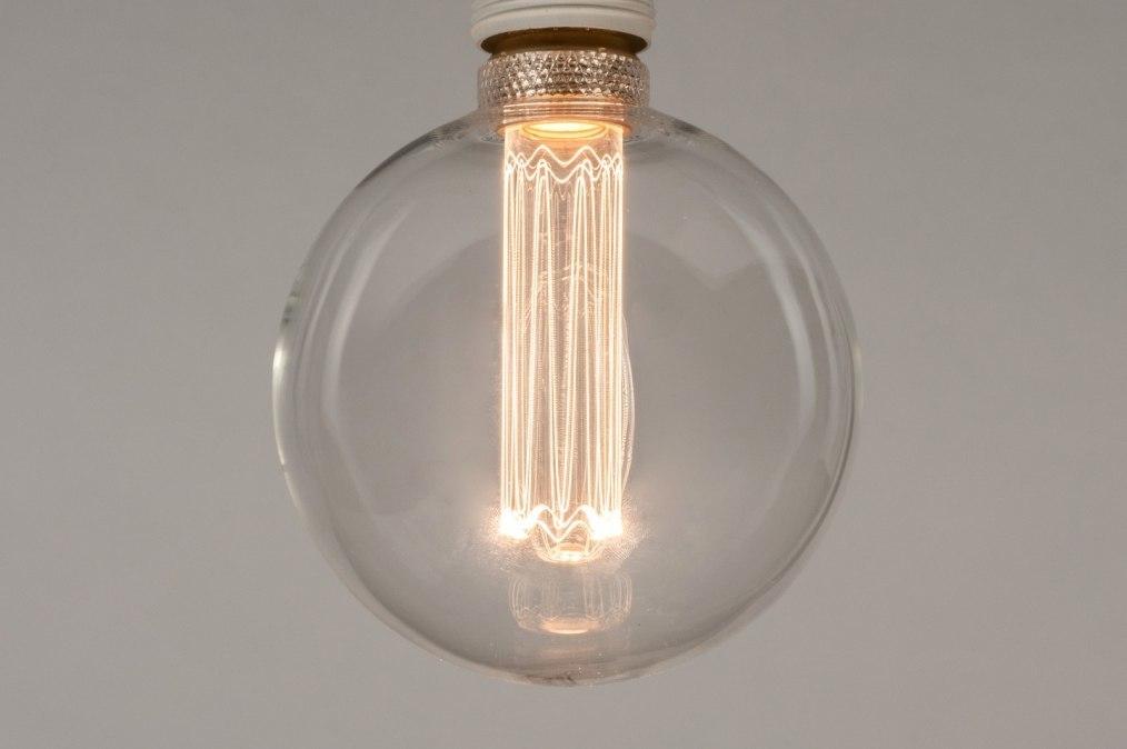 Lichtbron 331: glas, helder glas, rond #0