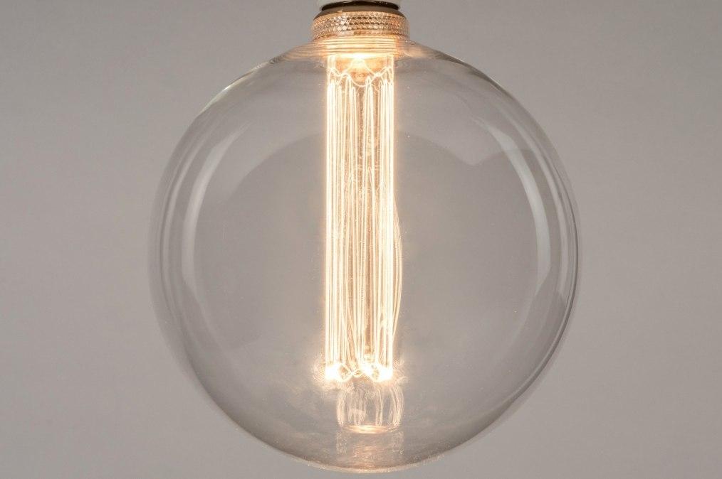 Lichtbron 332: glas, helder glas, rond #0