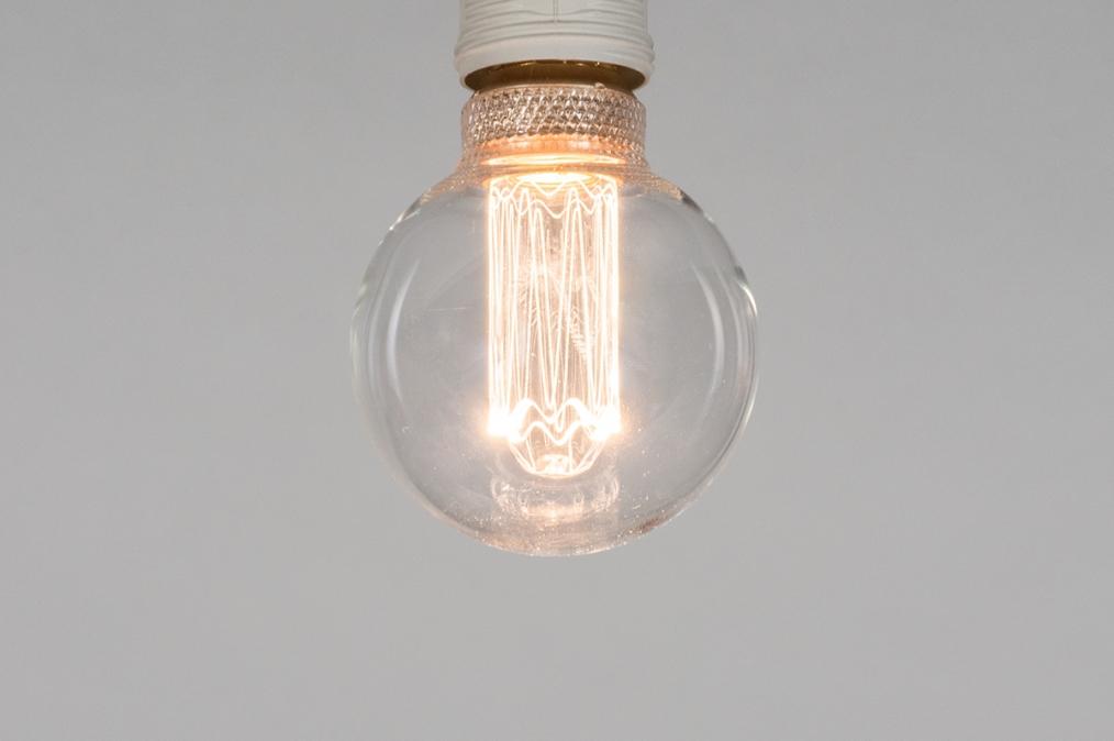 Lichtbron 369: glas, helder glas, rond #0