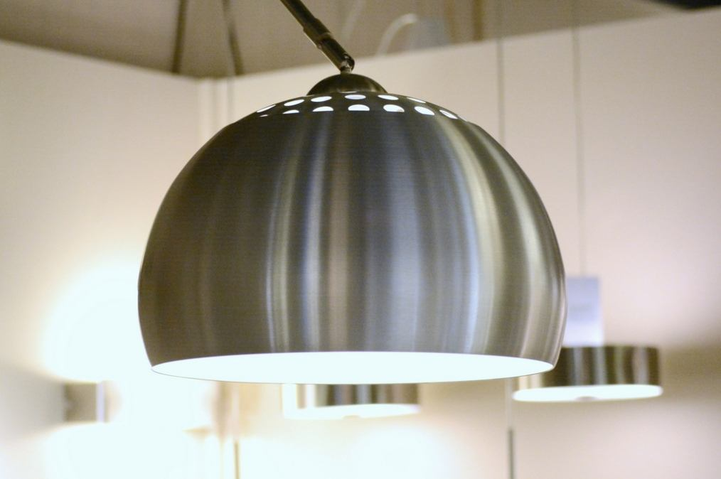 Top Vloerlamp 58036: Modern, Retro, Staal Rvs, Aluminium @RC45