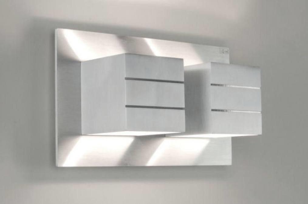 Wandlamp 66090: modern, design, aluminium, aluminium #0