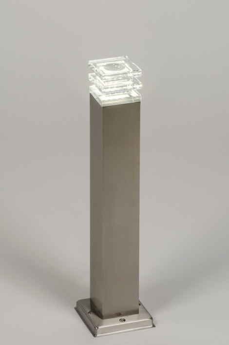Vloerlamp 70037: sale, modern, glas, helder glas #0