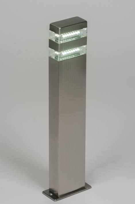 Vloerlamp 70073: sale, modern, glas, helder glas #0
