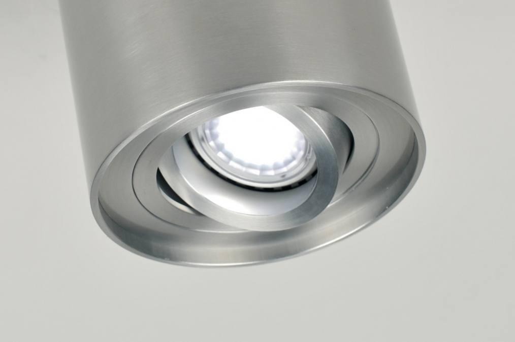 deckenleuchte 70163 modern aluminium aluminium metall. Black Bedroom Furniture Sets. Home Design Ideas