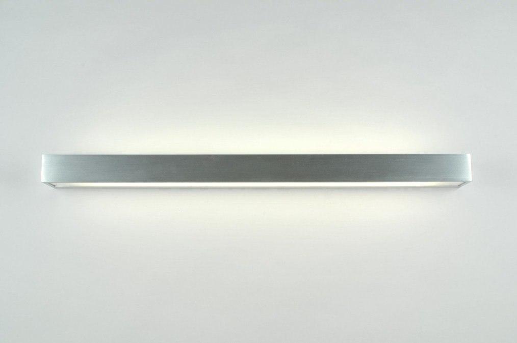Wandlamp 70188: modern, design, aluminium, aluminium #0