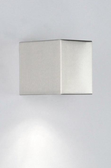 badezimmerlampe 70508 modern aluminium rechteckig. Black Bedroom Furniture Sets. Home Design Ideas