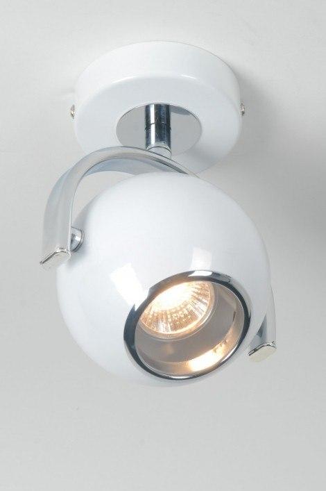 Spotlight 70615: modern, retro, metal, white #0