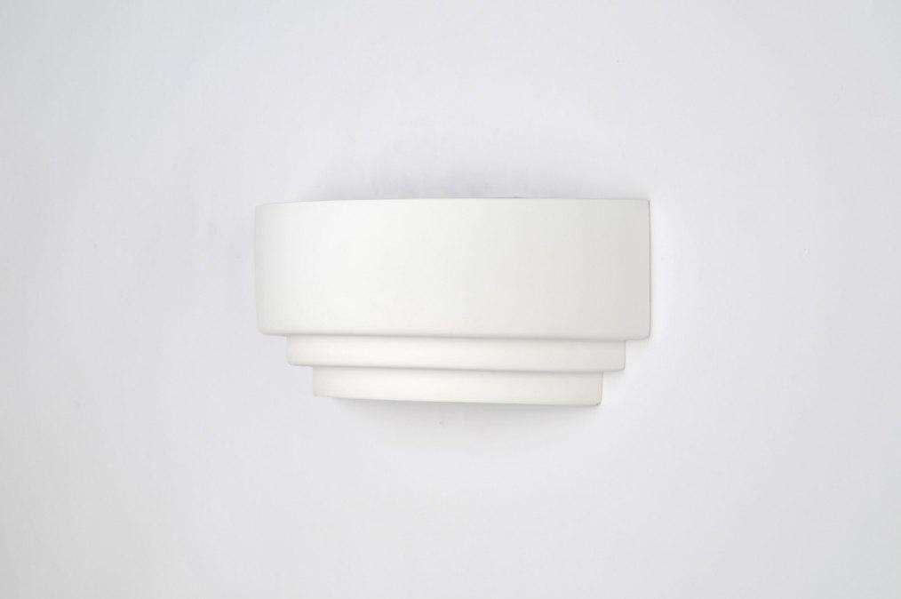 applique murale 70811 moderne blanc ceramique rectangulaire. Black Bedroom Furniture Sets. Home Design Ideas