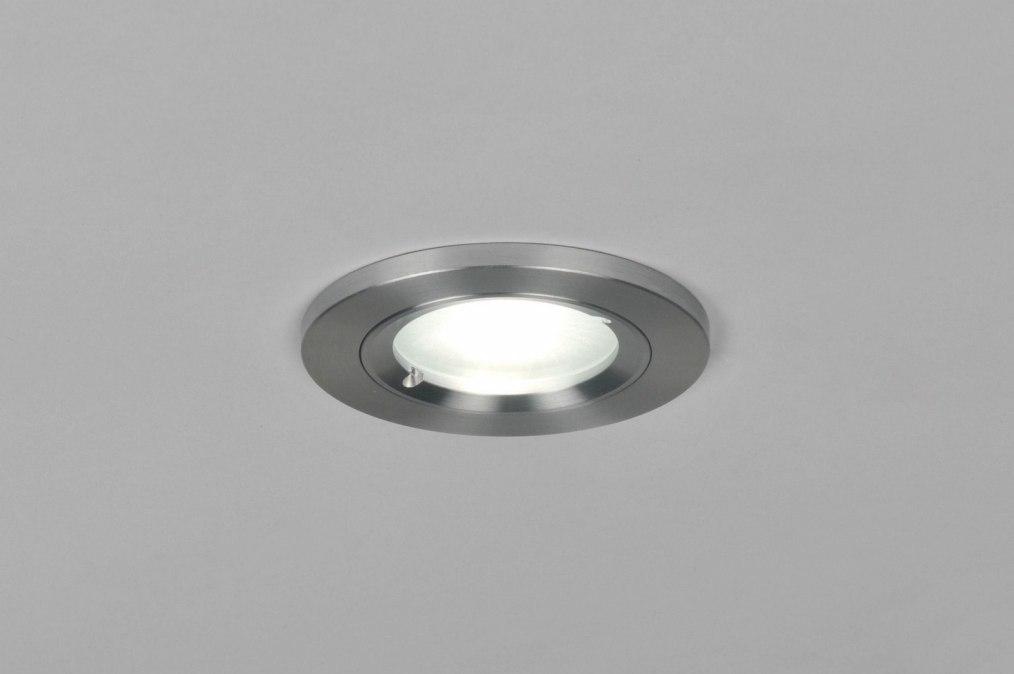 Inbouwspot 70815: design, modern, aluminium, metaal #0