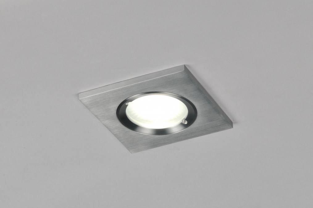 Inbouwspot 70817: design, modern, aluminium, metaal #0
