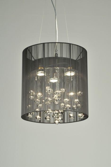 Hanglamp 71046: sale, modern, eigentijds klassiek, stof #0