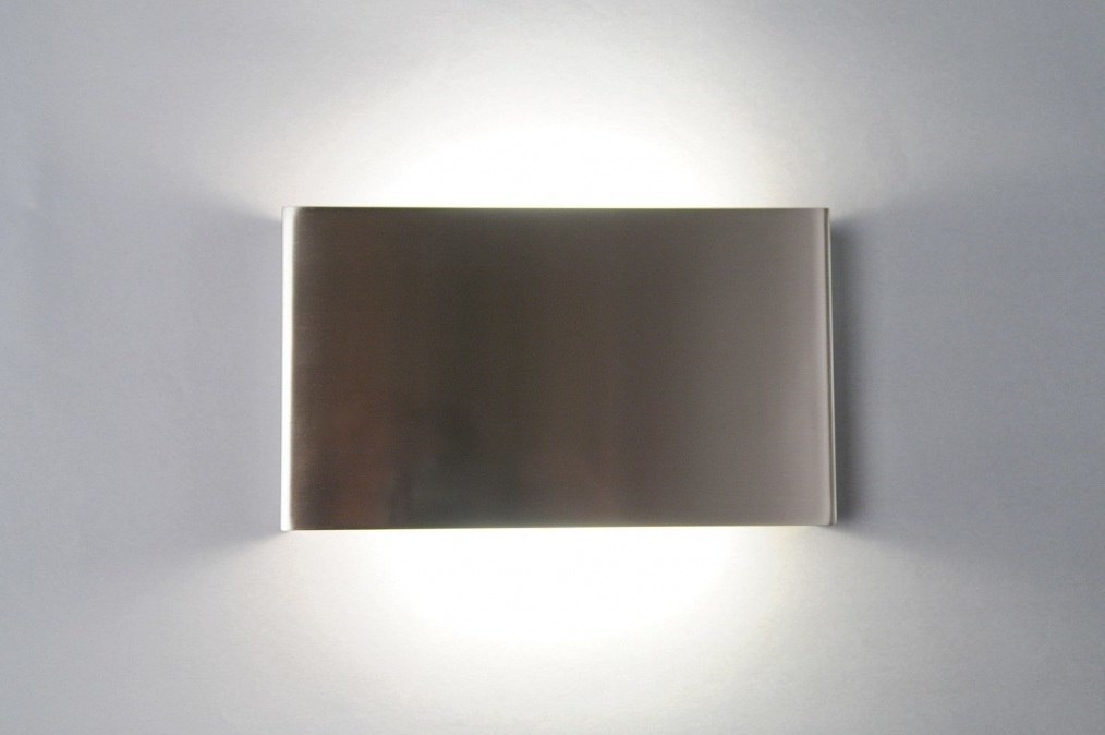 Wall lamp 71066: designer, modern, stainless steel, metal #0