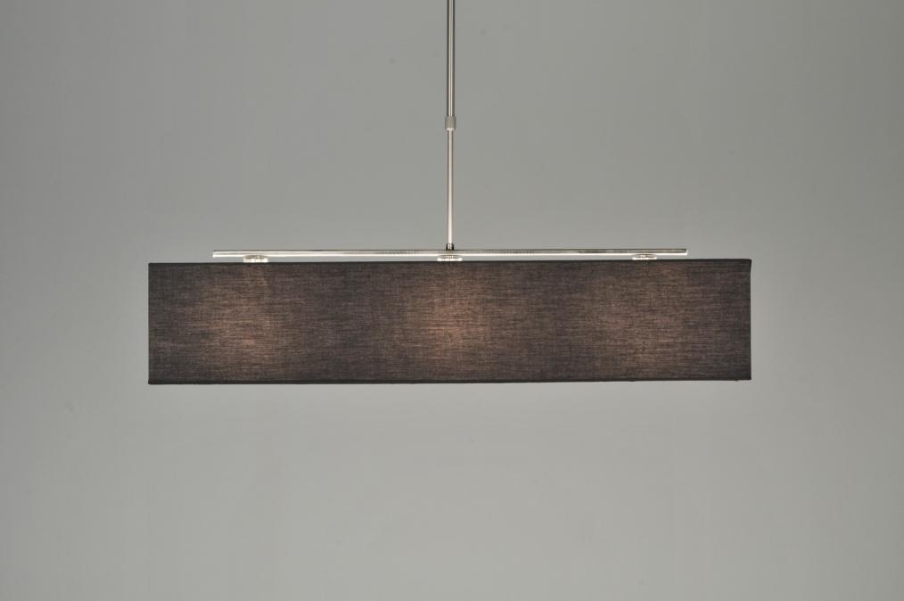 Iets Nieuws Hanglamp 71216: Landelijk, Rustiek, Modern, Stof XA24