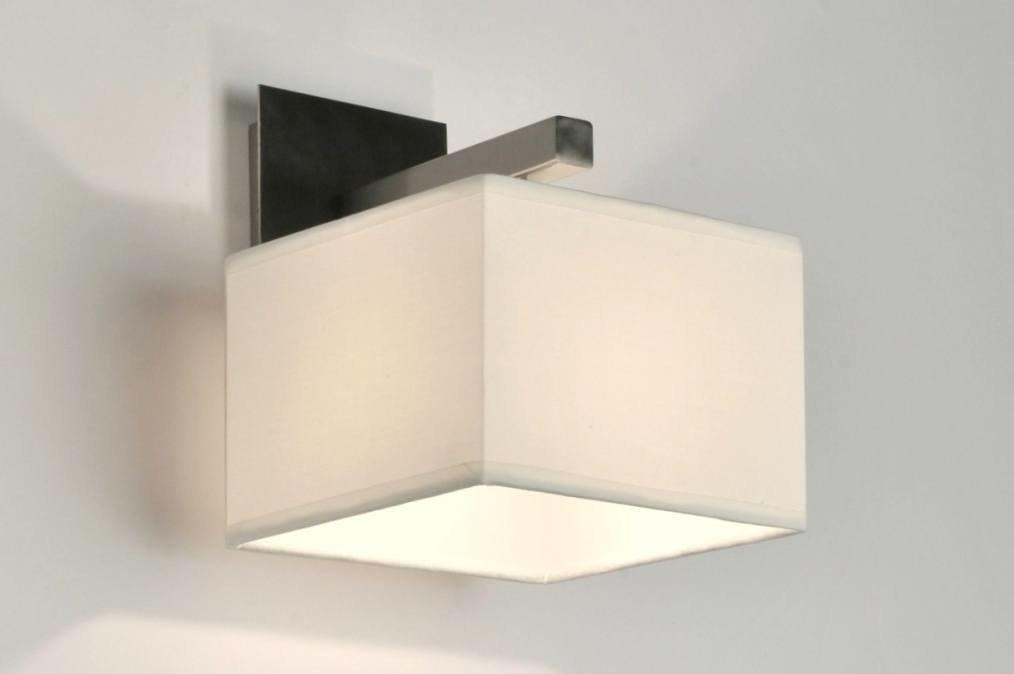 Wandlamp 71219: modern, eigentijds klassiek, stof, wit #0