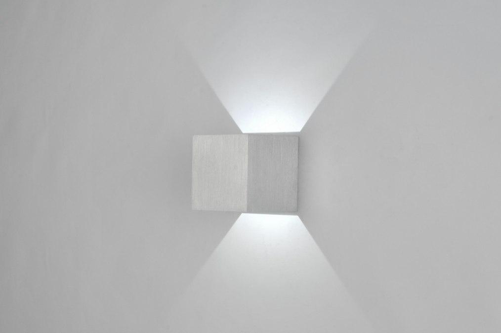 applique murale 71334 moderne design aluminium aluminium. Black Bedroom Furniture Sets. Home Design Ideas