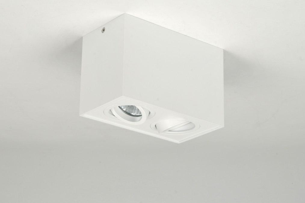 Deckenleuchte 71342 modern design weiss matt for Plafondverlichting design