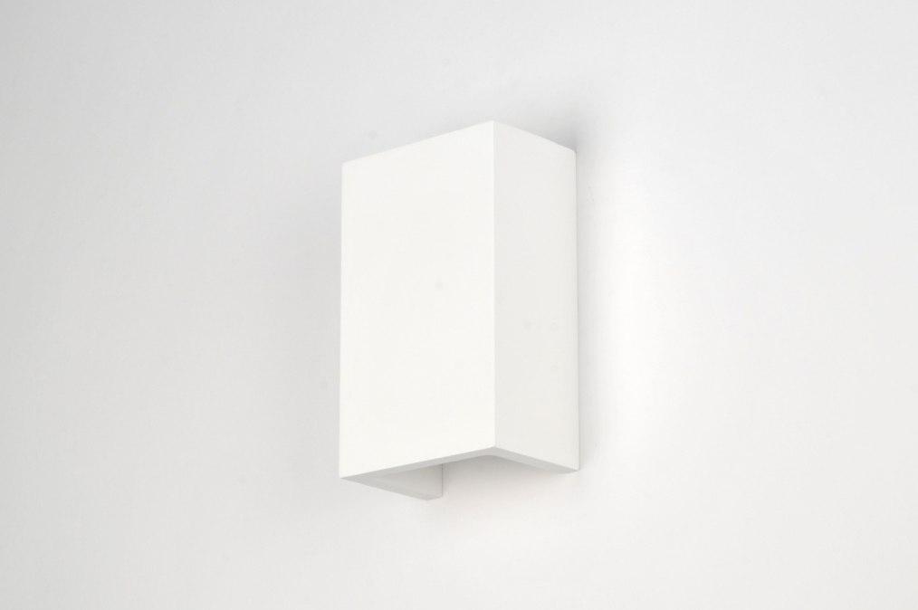 Applique murale 71352 moderne ceramique blanc mat - Ceramique murale autocollante ...