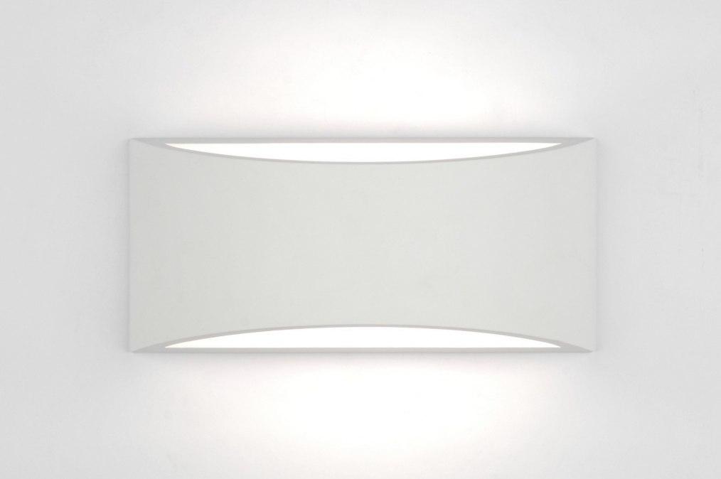 applique murale 71358 moderne classique contemporain blanc ceramique. Black Bedroom Furniture Sets. Home Design Ideas