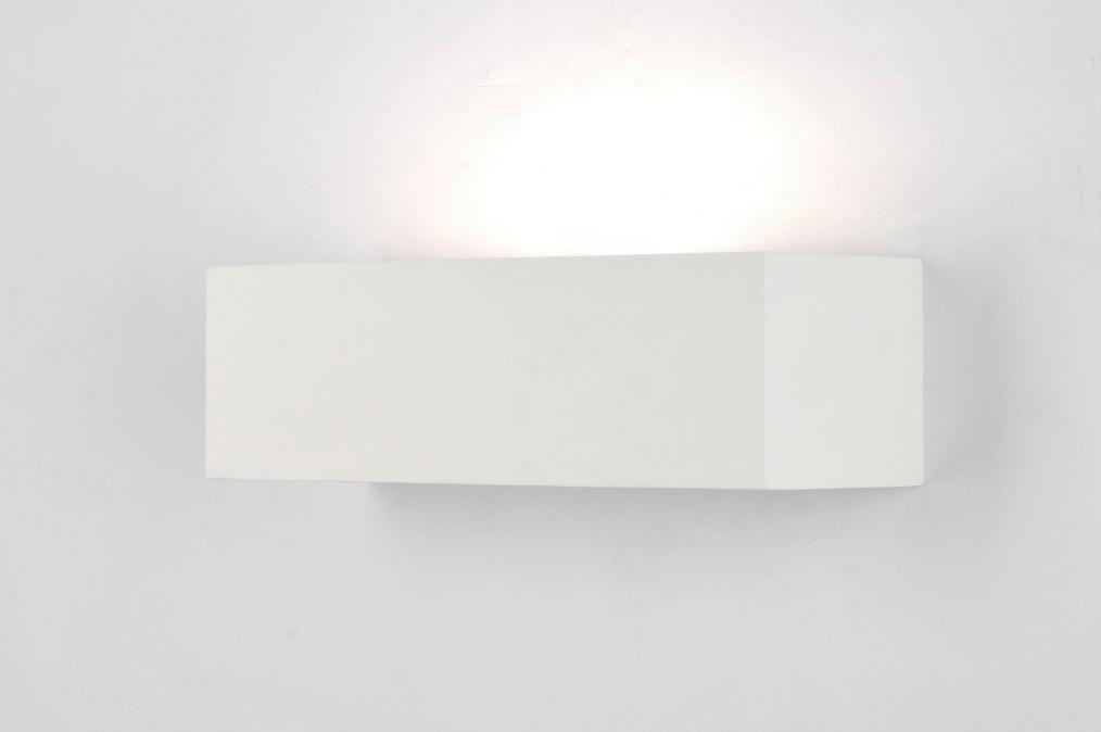 applique murale 71360 moderne classique contemporain blanc ceramique. Black Bedroom Furniture Sets. Home Design Ideas