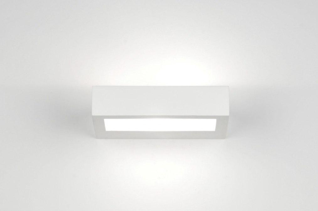 applique murale 71361 moderne blanc mat ceramique. Black Bedroom Furniture Sets. Home Design Ideas