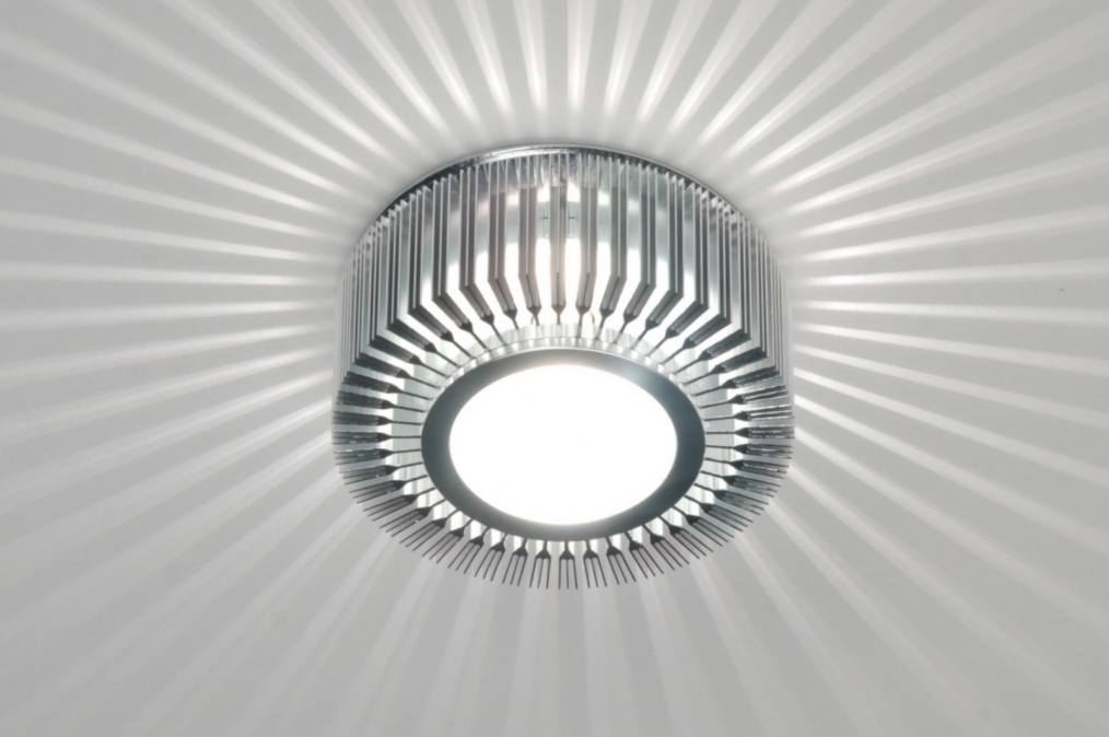 Wall lamp 71381: designer, modern, contemporary classical, aluminium #0