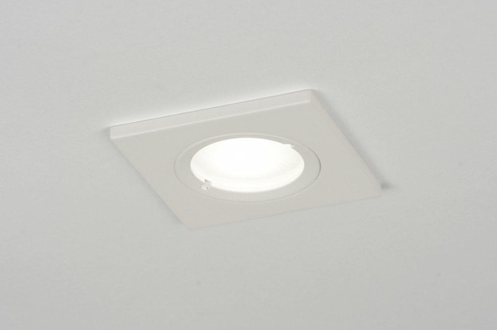 Recessed spotlight 71407: modern, contemporary classical, aluminium, metal #0