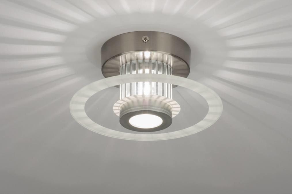 Plafondlamp 71421: modern, design, aluminium, aluminium #0