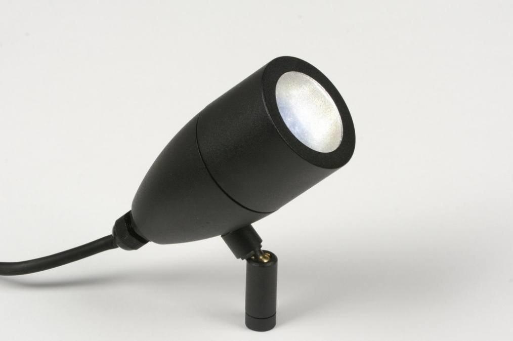 Buitenlamp 71485: modern, industrie, look, zwart #0