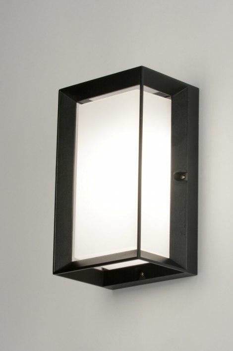 Wandlamp 71519: modern, aluminium, kunststof, polycarbonaat slagvast #0