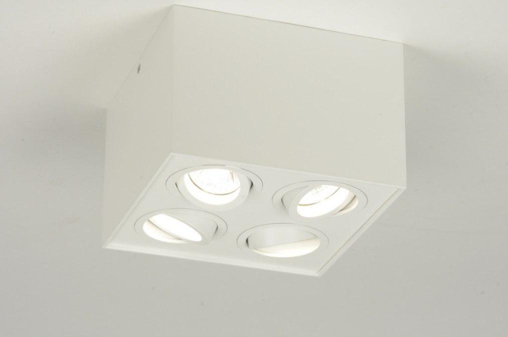 Spot 71528: modern, aluminium, metaal, wit #0
