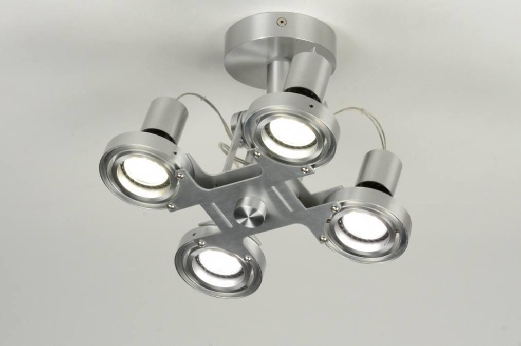 Plafondlamp 71544: sale, modern, design, aluminium #0