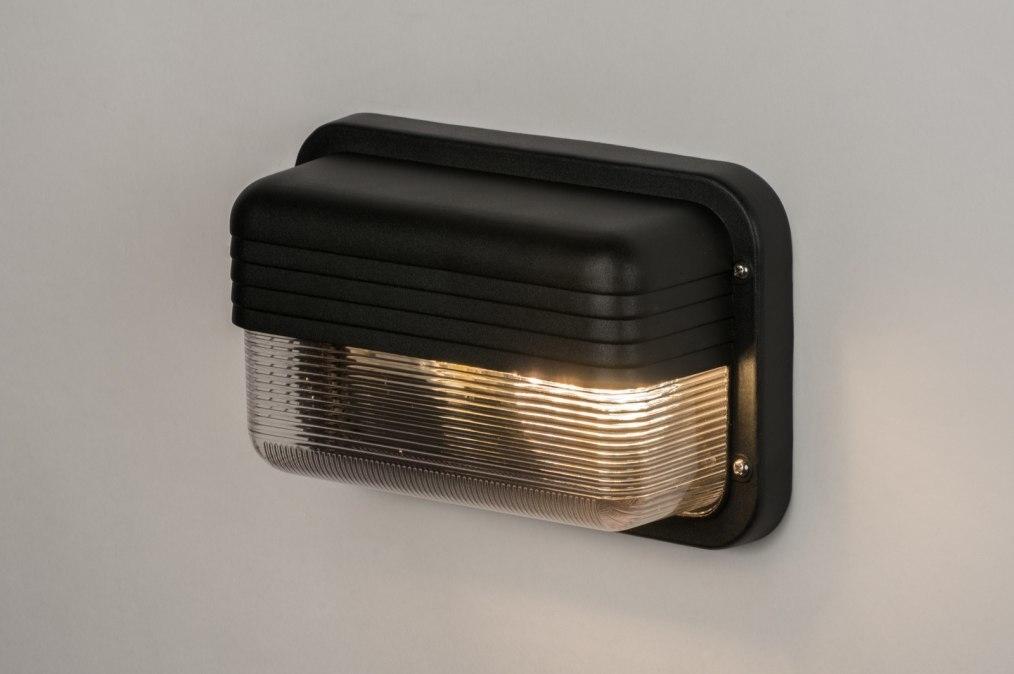 aussenleuchte 71577 modern industrielook kunststoff. Black Bedroom Furniture Sets. Home Design Ideas