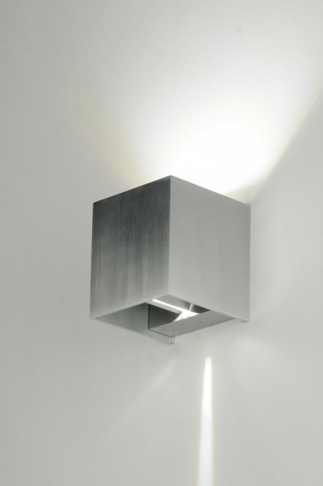 Wandlamp 71756: modern, design, aluminium, aluminium #0