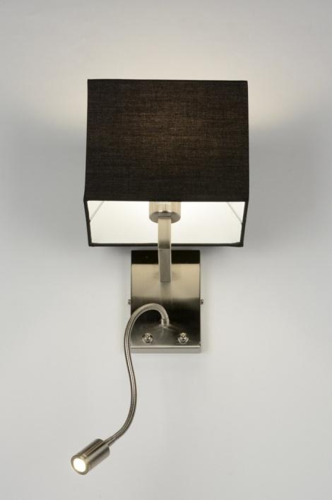 applique murale 71771 moderne classique contemporain rural rustique noir. Black Bedroom Furniture Sets. Home Design Ideas